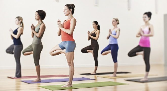 What are the health effects of regular yoga practice on the back and spine? 4