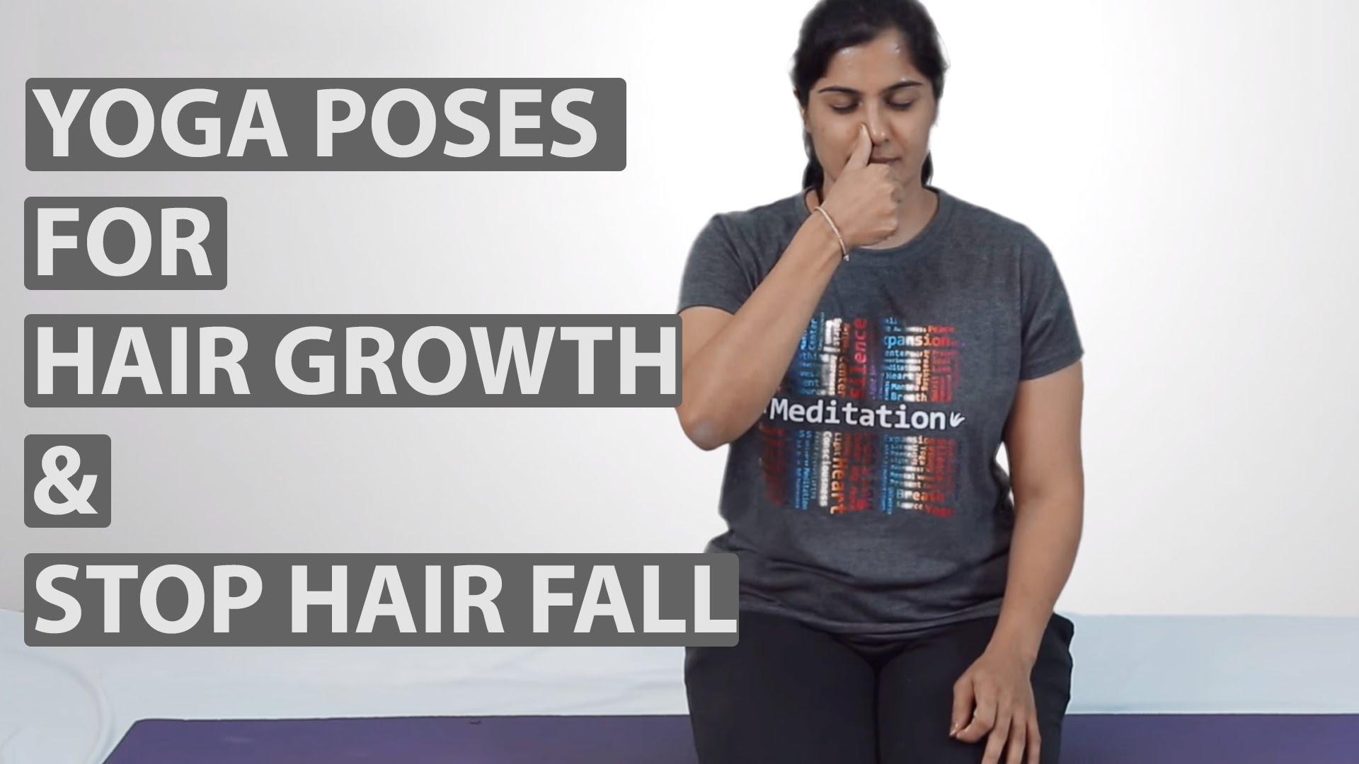 Can yoga help in reducing hair fall? 1