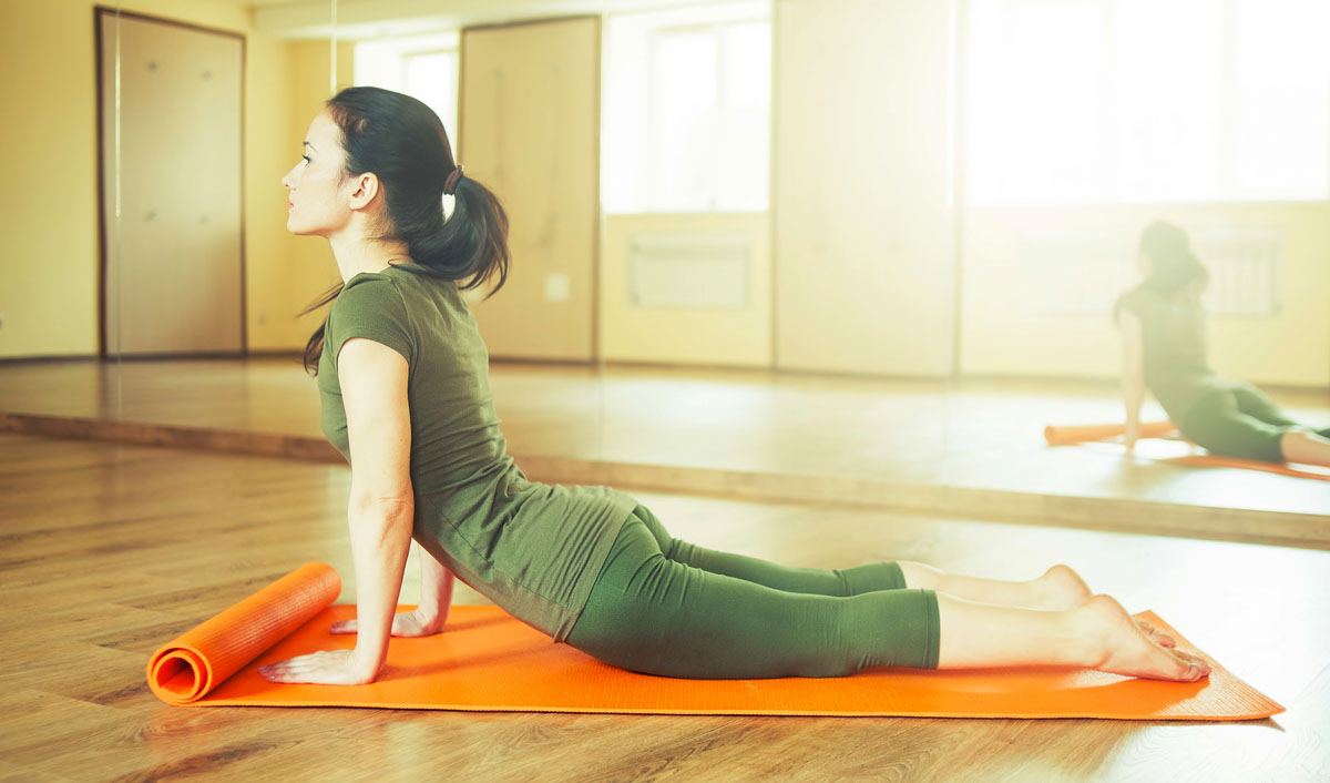 How many of you have lost weight by doing yoga? 1