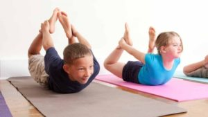 What is the right age for children to learn yoga? 19