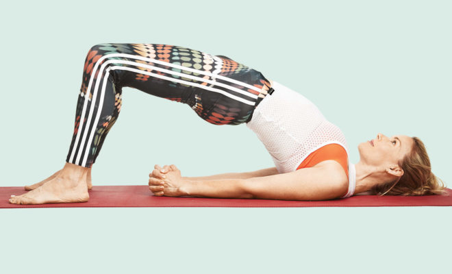 How can you build up arm strength for yoga? 6