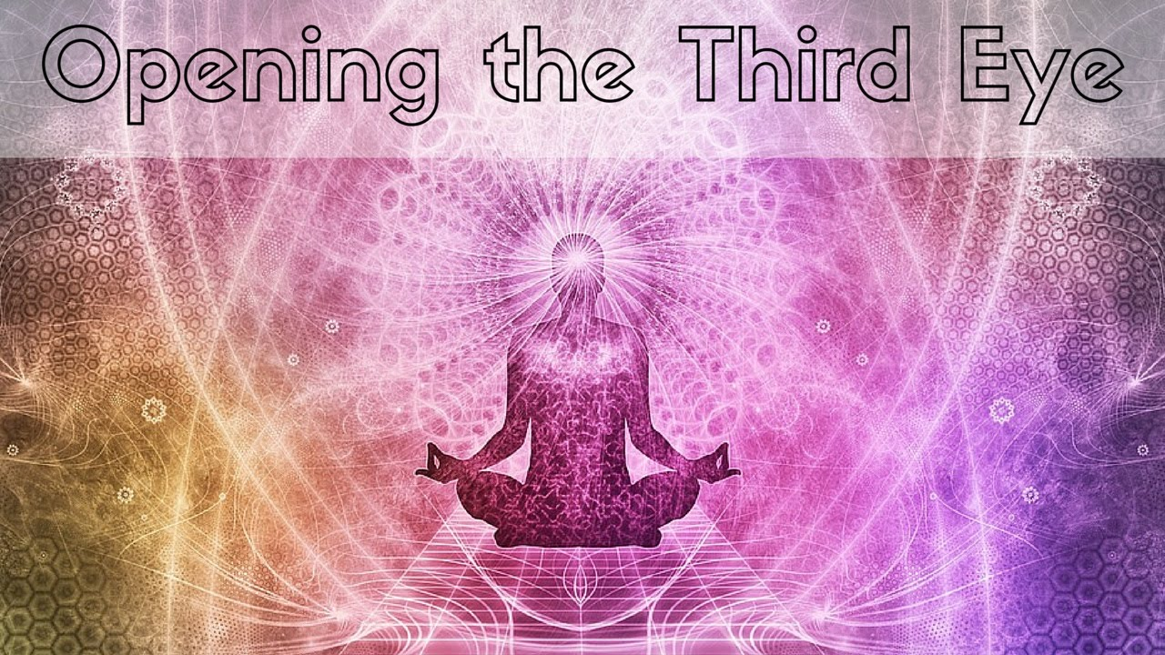 What are the meditation techniques for opening the third eye? 1