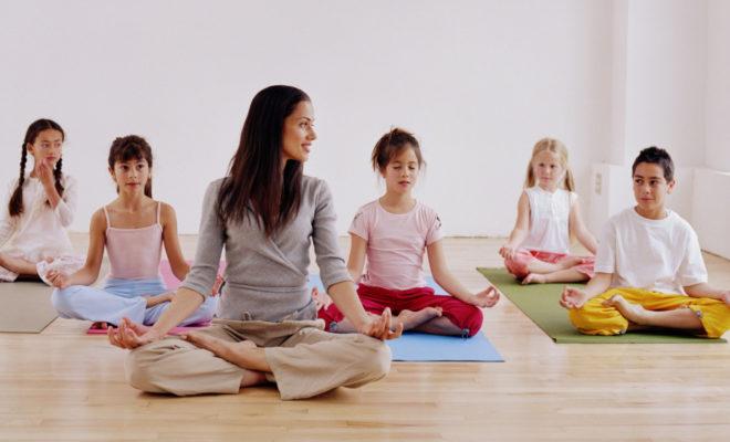 Why do kids need to do yoga? 4