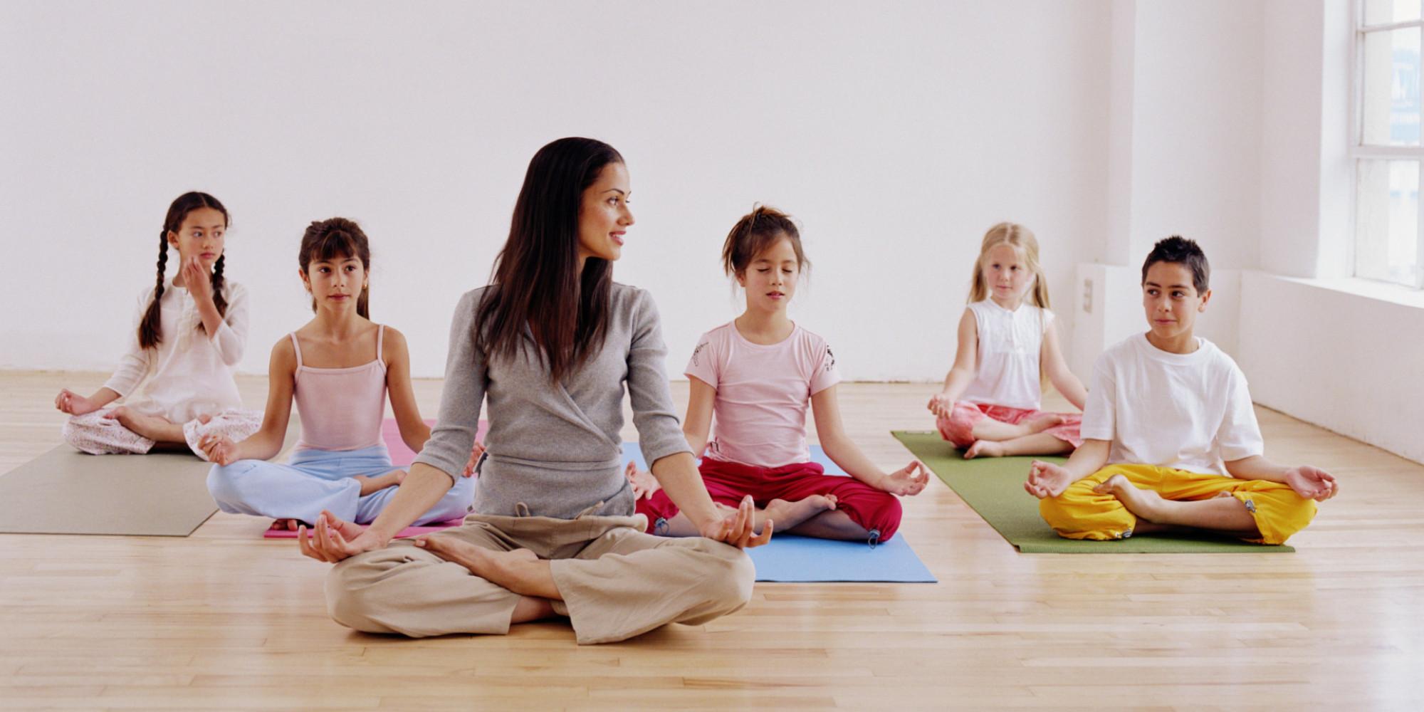 Why do kids need to do yoga? 1