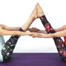 What are some fun partner yoga poses? 8