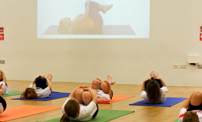 What is the right age for children to learn yoga? 6