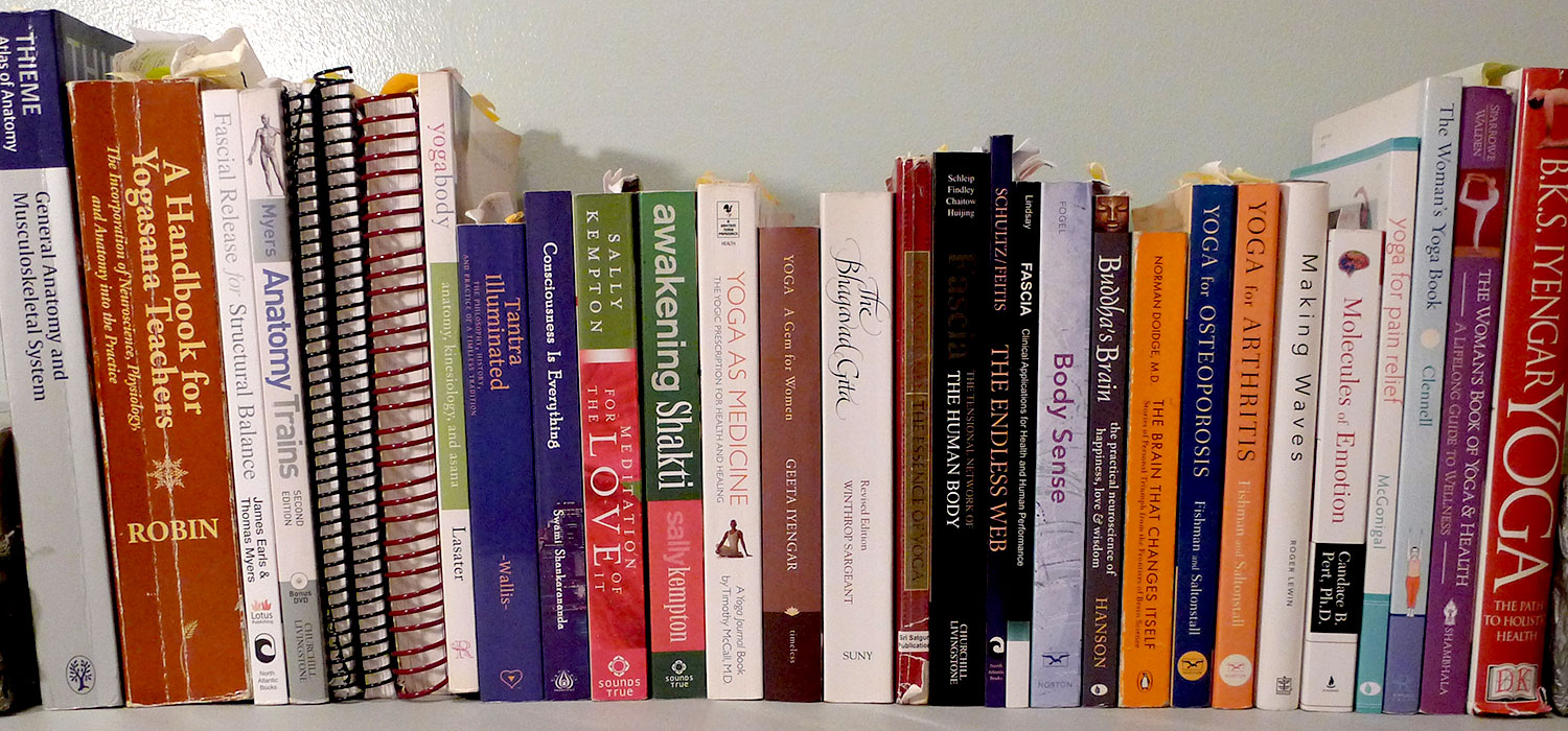 Which is a perfect book for practising yoga for beginners? 14