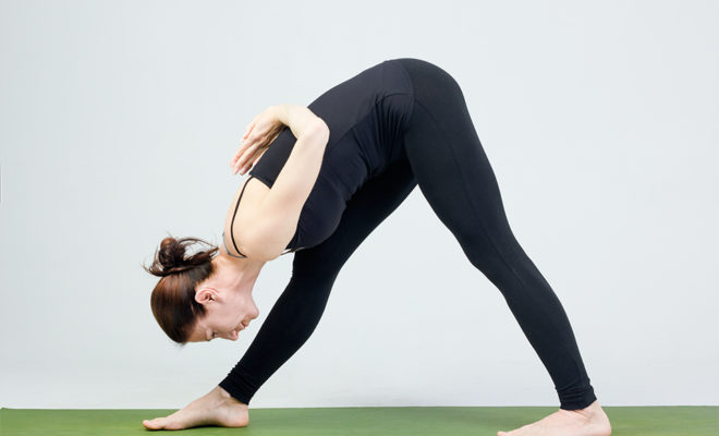 What are the basic yoga positions that one must perform to increase concentration and brain performance? 4