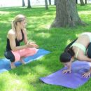What yoga exercise reduces hair fall? 4