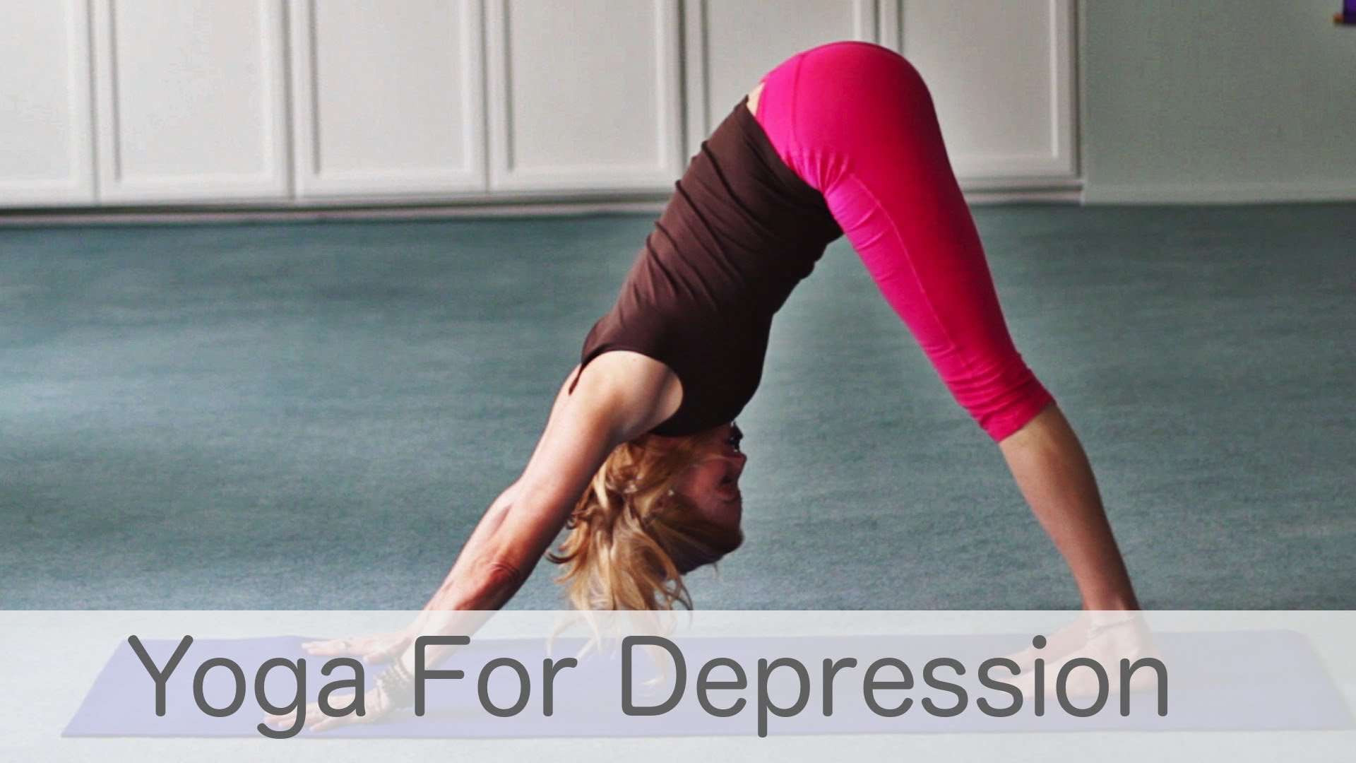 What are some yoga methods to deal with mental stress? 15
