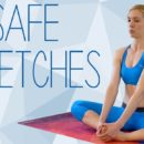 What are some basic yoga stretches for beginners? 8
