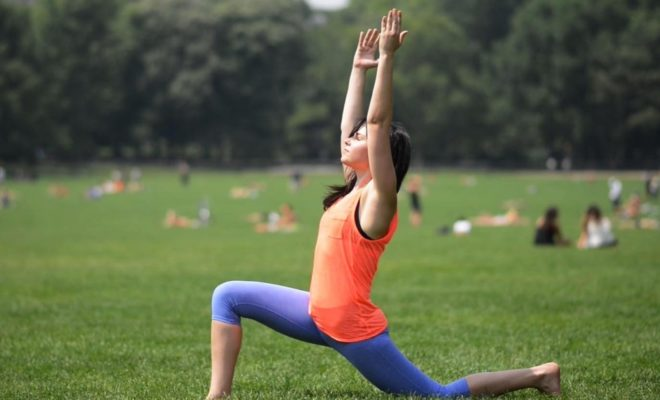 What are some good standing yoga poses for beginners? 11