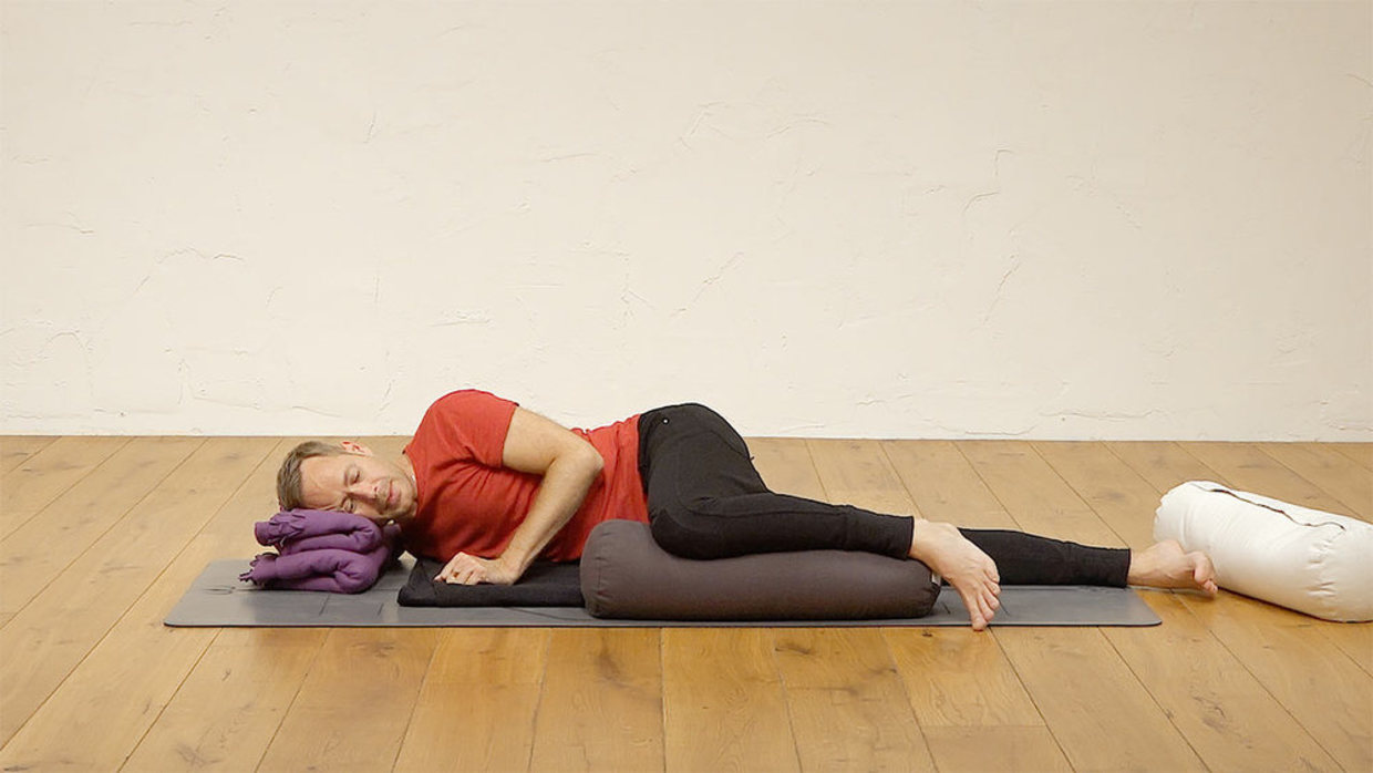 """What steps are there in the process of """"Yoga Nidra""""? 3"""