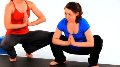 Which yoga poses can help lower back strain, without causing further pain? 3