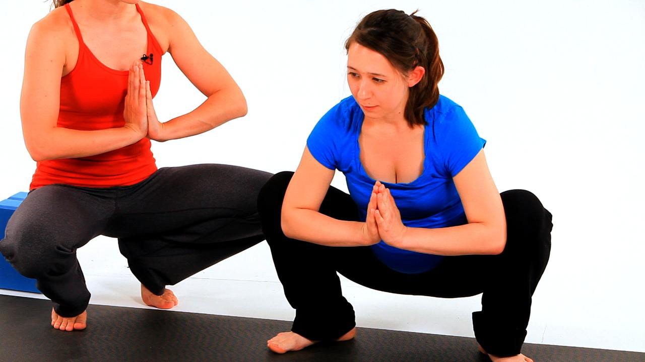 Which yoga poses can help lower back strain, without causing further pain? 10