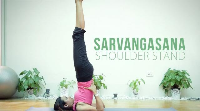 Sarvangasana (Shoulder Stand)