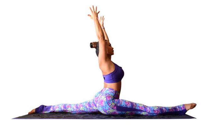 What are the health benefits of using the easy pose while doing yoga? 2