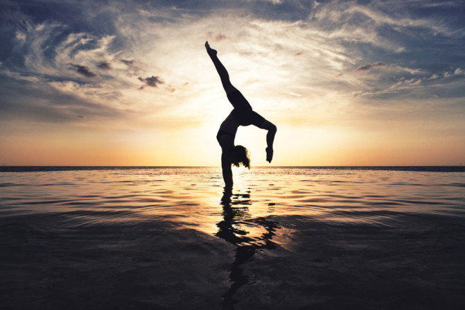 What is the premise behind yoga? 1