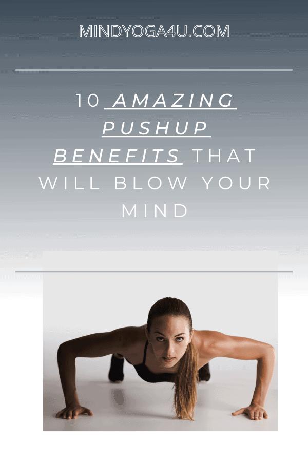 pushup benefits